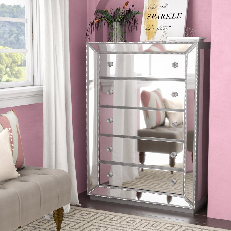 Willa Arlo Interiors Acuna 5 Drawer Bedroom Chest & Reviews
