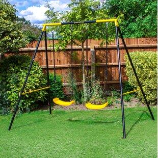 Swing Sets Swing And Slide Sets You Ll Love Wayfair Co Uk
