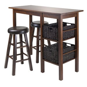 Weldon 5 Piece Pub Table Set by Red Barrel Studio