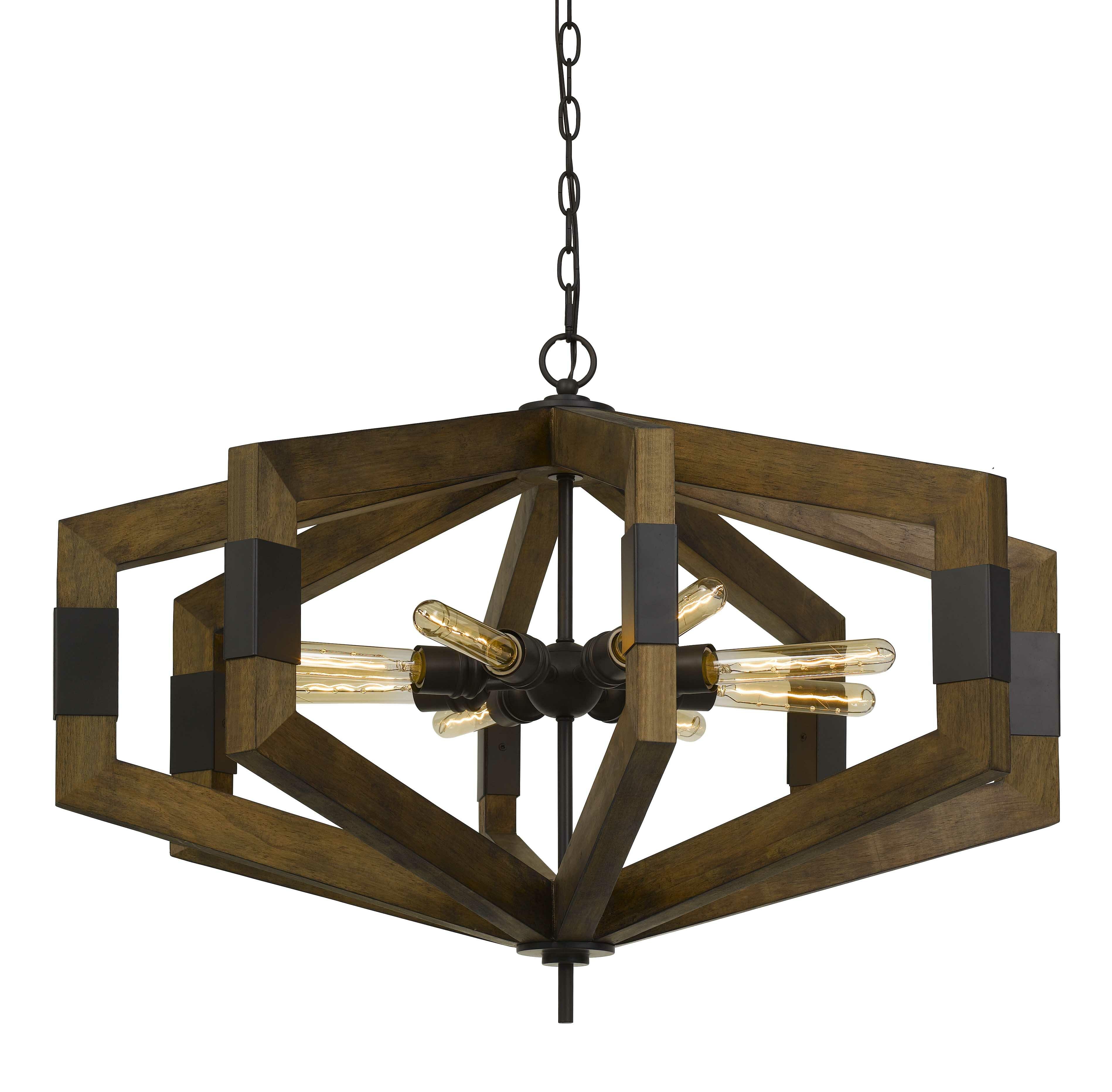 Troncoso 8 Light Geometric Chandelier