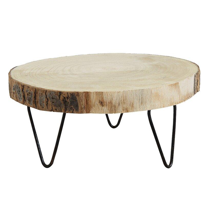 6be1872f74c7 Portalia Small Paulownia Wood Pedestal Plant Stand & Reviews   Joss ...
