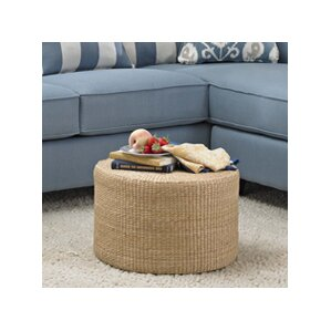 Kianna Rush Grass Coffee Table/Ottoman by Beachcrest Home