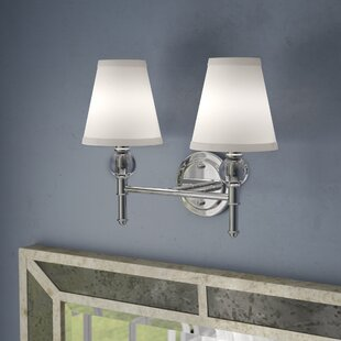 Agustine 2-Light Vanity Light by House of Hampton