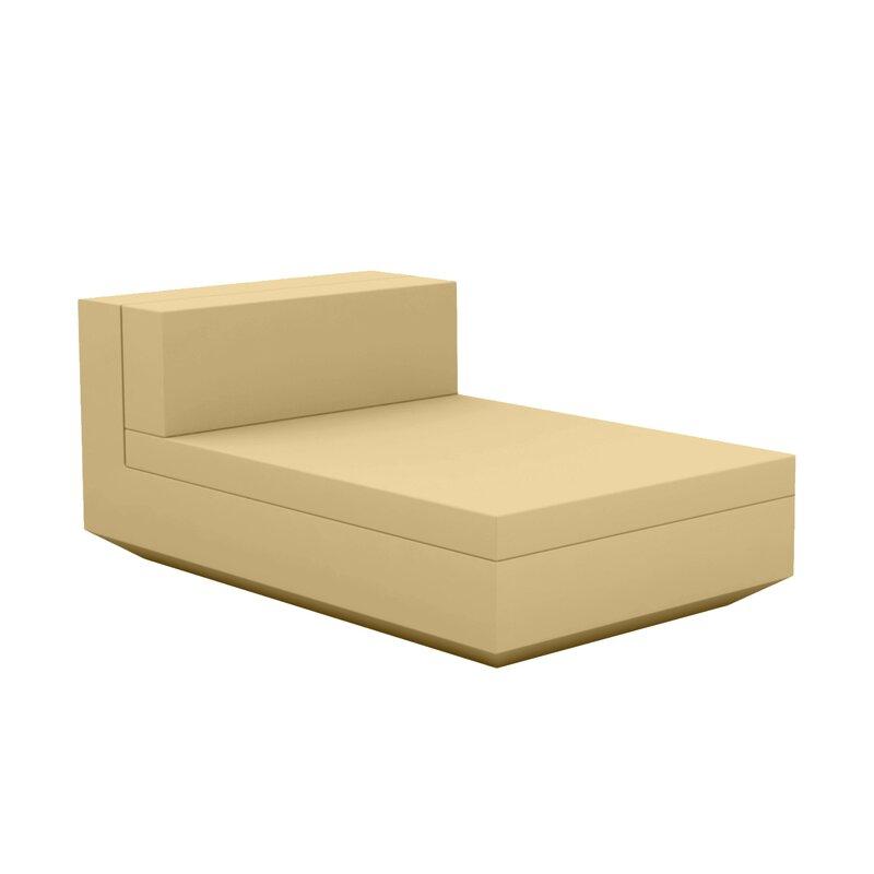 Vondom Vela Sectional Chaise Lounge With Cushion Wayfair