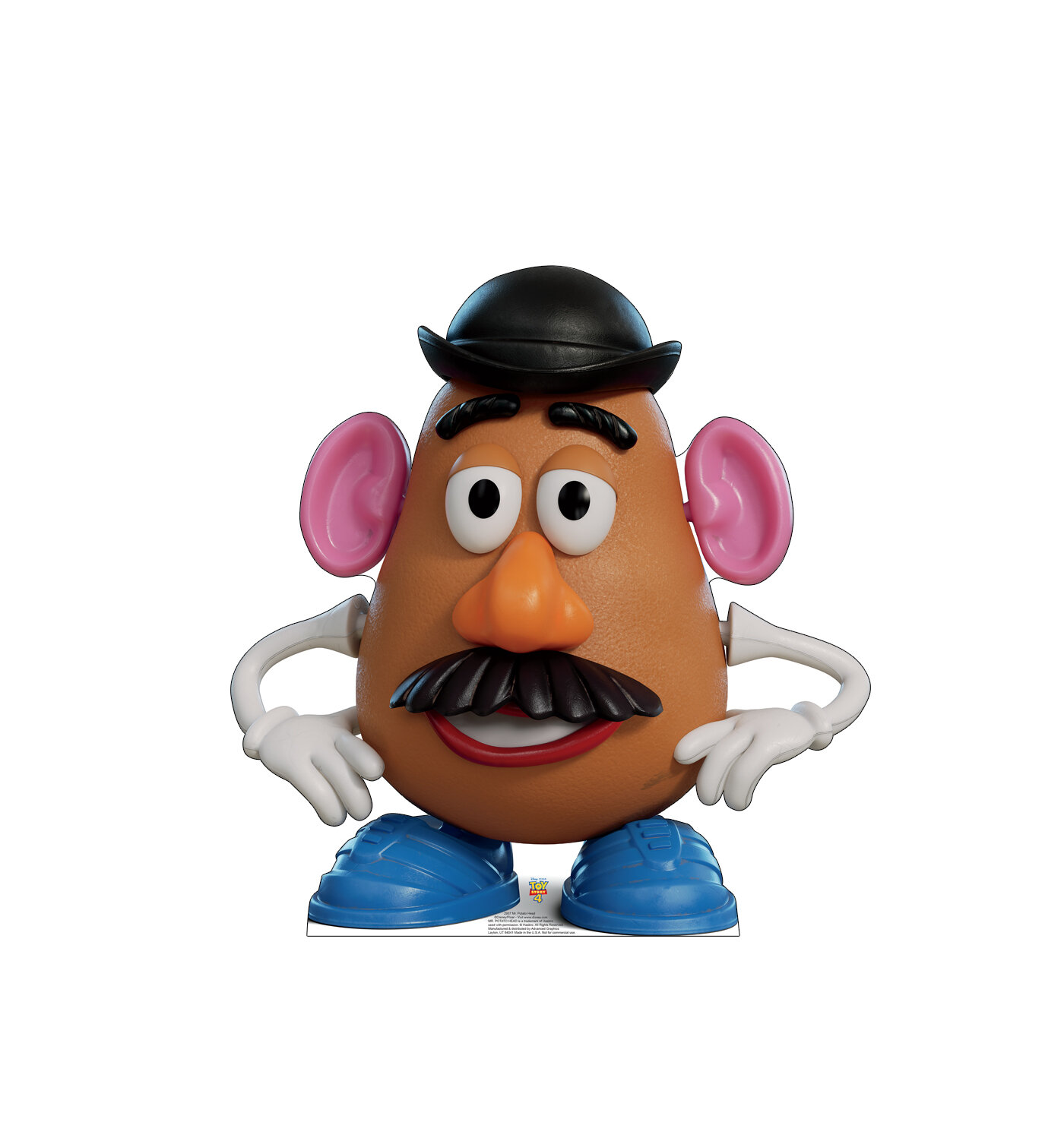 Mr Potato Head Disneypixar Toy Story 4 Cardboard Standup