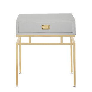 Krupa End Table with Storage by Everly Quinn