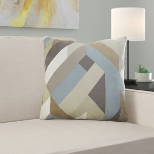 Livingon 100% Cotton Throw Pillow by Ebern Designs Fresh