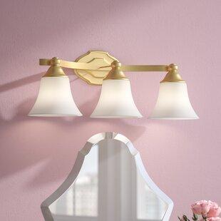Destrey 3-Light Bell Vanity Light by Willa Arlo Interiors