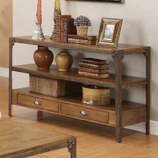 Review Hingham Console Table By Loon Peak