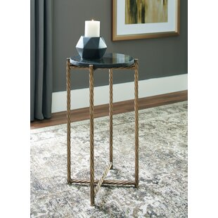 Compare prices Lancelot End Table by Wrought Studio