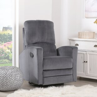 Mortola Manual Swivel Glider Recliner