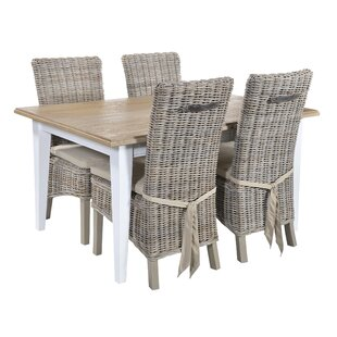 Bellemoor Extendable Dining Set With 4 Chairs By Breakwater Bay