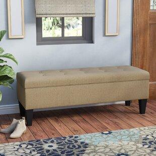 Potrero Fabric Storage Bench by Alcott Hill