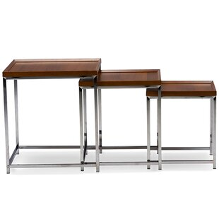 Mensa 3 Piece Nesting Tables by Latitude Run