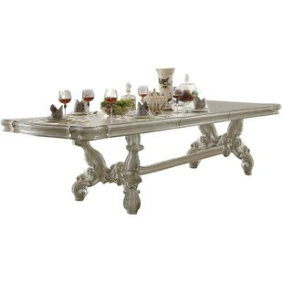Roza Trestle Extendable Dining Table Best
