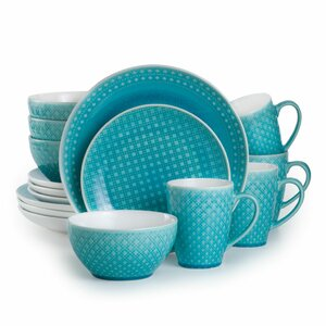 Palma 16 Piece Dinnerware Set, Service for 4