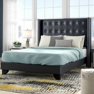 Wade Logan Arno Upholstered Panel Bed