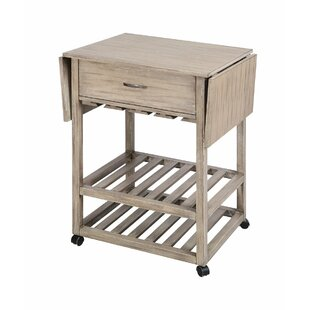Tramel Mobile Serving Bar Cart