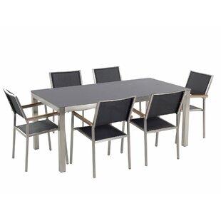 Cressida 6 Seater Dining Set By Ebern Designs