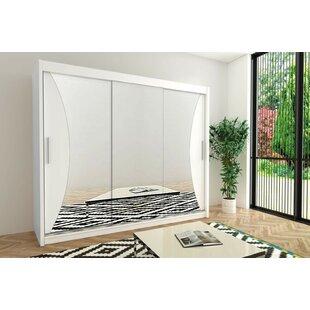 Margrethe 3 Door Sliding Wardrobe By Ebern Designs