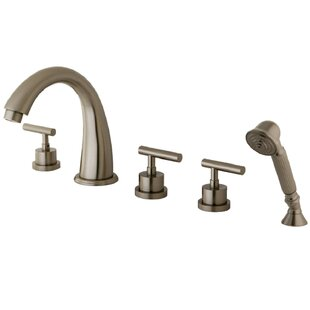 Kingston Brass Triple Handle Deck Mounted..