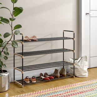 Looking for 4-Tier Storage 20 Pair Shoe Rack By Rebrilliant