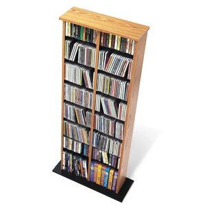 Deliah Double Media Multimedia Storage Rack ..