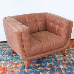Kellison Vintage Leather Lounge Chair