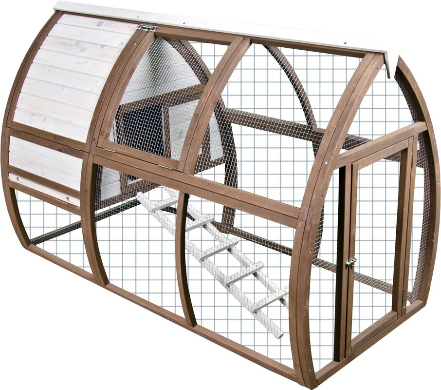 Ware Manufacturing Backyard Chicken CoopHouse Open Air Hutch