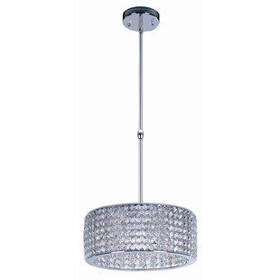 Rosdorf Park Shania 9-Light Crystal Chandelier