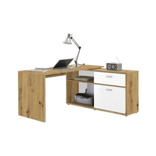 Diego L-Shape Executive Desk By FMD