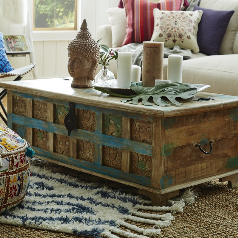 chest living room. Bodella Storage Coffee Table Decorative Trunks You ll Love  Wayfair