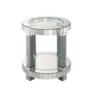 Rocio End Table with Storage by Everly Quinn