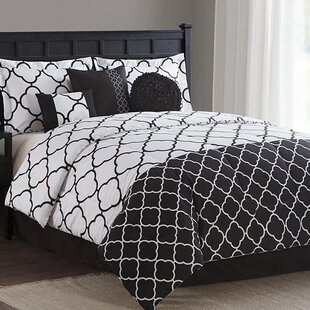 Clover Trellis 7 Piece Reversible Comforter Set