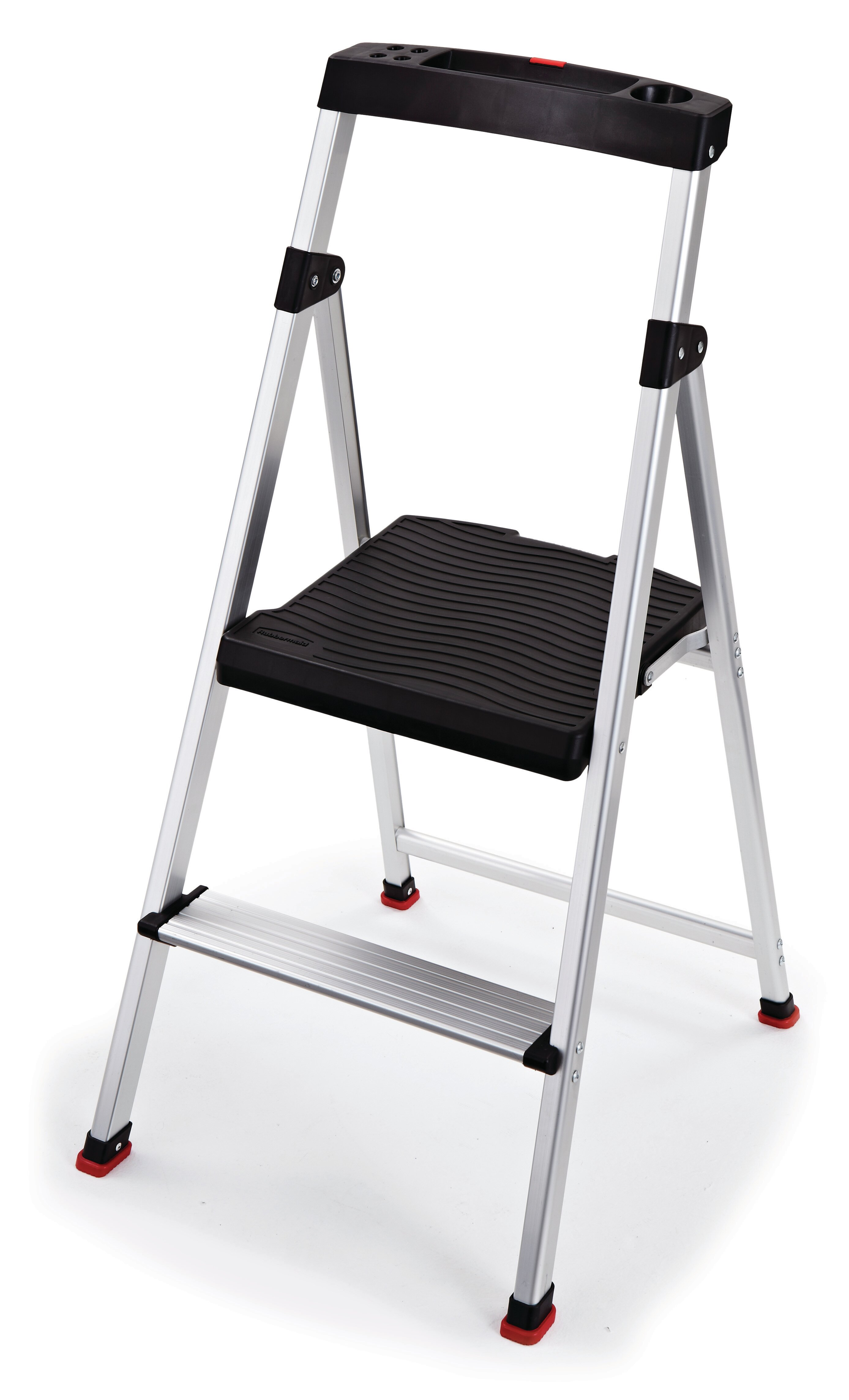Miraculous 2 Step Aluminum Step Stool With 225 Lb Load Capacity Caraccident5 Cool Chair Designs And Ideas Caraccident5Info
