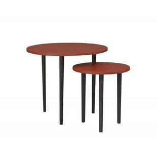 Plum Coffee Table Set By Happy Barok