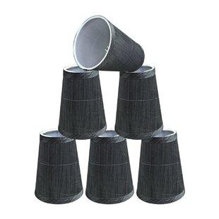4'' Fabric Empire Lamp Shade (Set of 6)