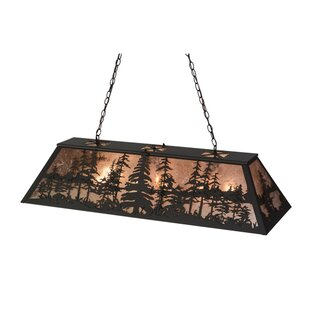 Meyda Tiffany Tall Pines 6-Light Pool Table Lights