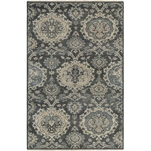 Harwich Hand-Knotted Gray Area Rug