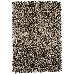 Affordable Freddie Black/White Area Rug By Williston Forge