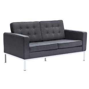 Button Loveseat