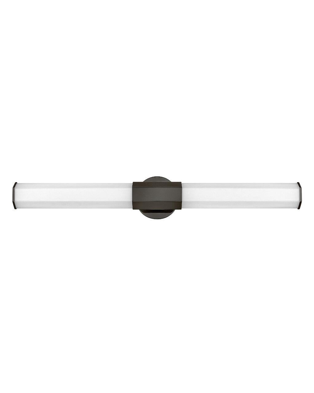 Wrought Studio Conall 1 Light Dimmable Led Black Oxide Bath Bar