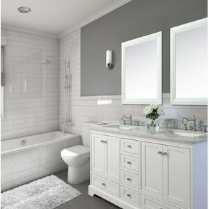 60″ Double Bath Vanity Set