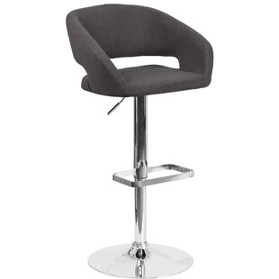 Grow Adjustable Height Swivel Bar Stool b..