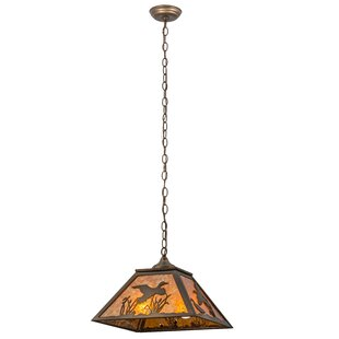 Meyda Tiffany Ducks in Flight 2-Light Pendant