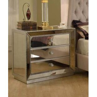 Prince 3 Drawer Nightstand By Everly Quinn