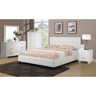 A&J Homes Studio Jake Upholstered Platform Bed