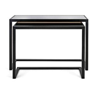 Ebern Designs Gaillard 2 Piece Console Table Set