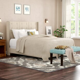 Woburn Upholstered Panel Bed by Greyleigh