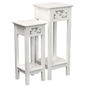 Elegant White Plant Stands U0026 Tables Youu0027ll Love | Wayfair
